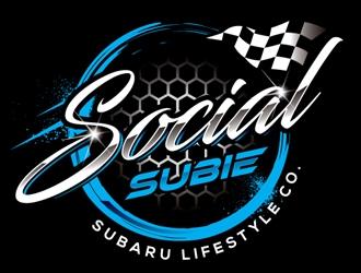 SocialSubie logo design