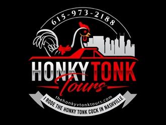 Honky Tonk Tours  logo design