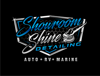 Showroom Shine Detailing  logo design