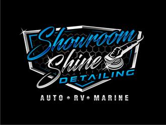 Showroom Shine Detailing  logo design