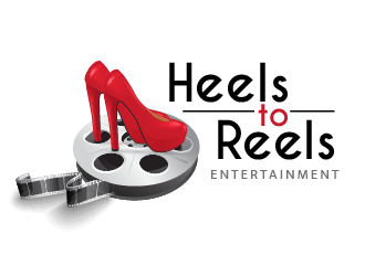 Heels to Reels Entertainment logo design