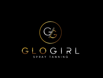 GloGirl Spray Tanning logo design