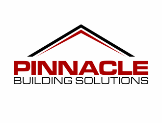 pinnacle building solutions logo design