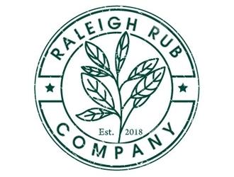 Raleigh Rub Company logo design