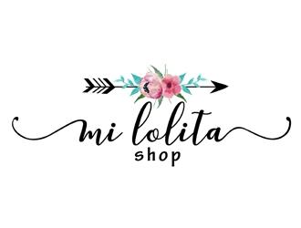 Mi Lolita Shop logo design