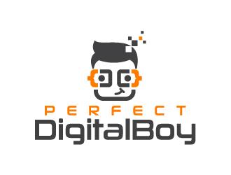 Perfect Digital Boy logo design
