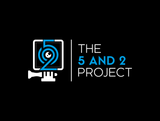The 5 and 2 Project logo design