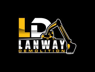 Lanway Demolition logo design