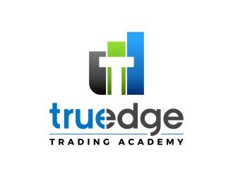 TruEdge Trading Academy logo design