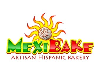 MexiBake logo design