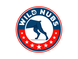 Wild Nubs logo design