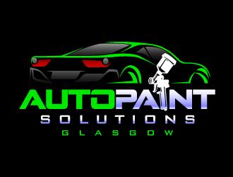 Auto Paint Solutions logo design