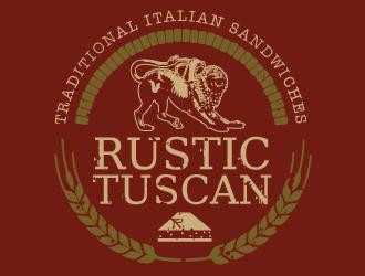 Rustic Tuscan logo design