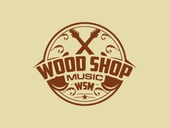 Wood Shop Music logo design