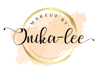 Makeup by Onika-lee logo design