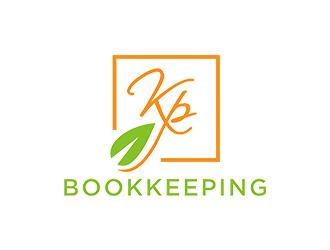 KP Bookkeeping logo design