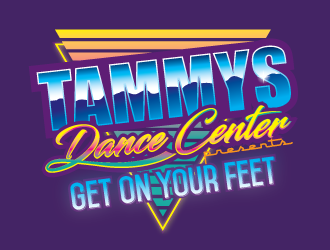Tammys Dance Center logo design