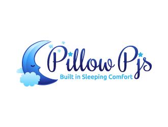 Pillow Pjs logo design