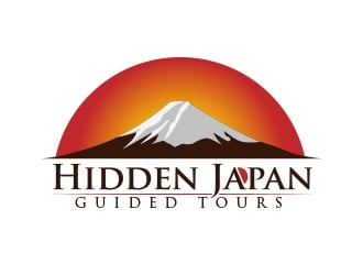 Hidden Japan logo design