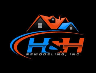 H & H Homes, Inc. logo design