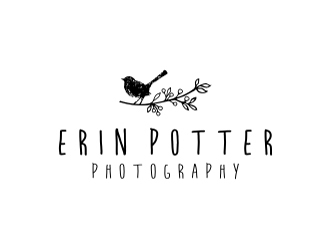 Erin Potter Photography logo design