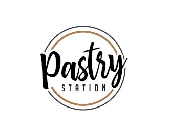 Pastry Station logo design