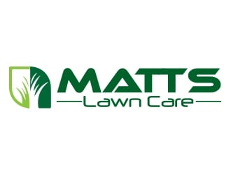 Matts Lawn Care logo design