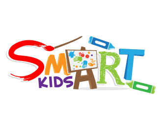 SmART Kids logo design