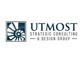 Utmost Strategic Consulting & Design Group logo design