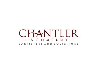 Chantler & Company / Barristers and Solicitors logo design