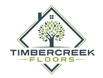 Timbercreek Floors logo design