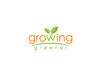 Growing Greener logo design