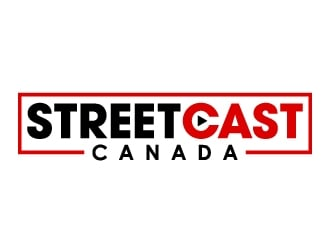 STREETCAST CANADA logo design
