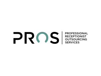PROS - Professional Receptionist Outsourcing Services logo design