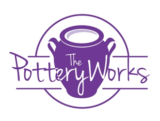 The PotteryWorks logo design