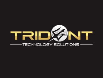 Trident Technology Solutions logo design