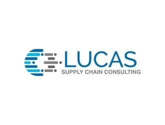 Lucas Supply Chain Consulting logo design