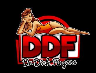 DDF Dr Dick Fingers logo design