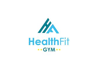 HealthFit Gym  logo design