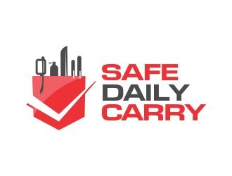 Safe Daily Carry logo design
