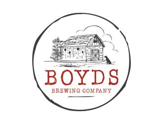 Boyds Brewing Company logo design