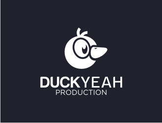 duckyeah production logo design