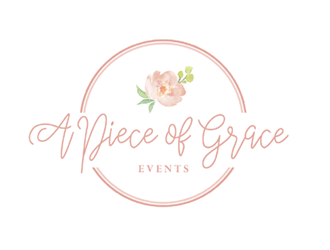 A Piece of Grace Events logo design