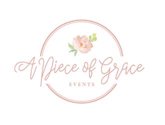 A Piece of Grace Events logo design