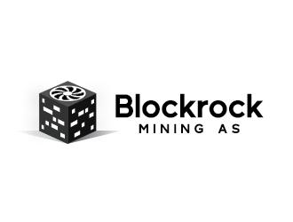 Blockrock Mining AS logo design