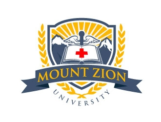 Mount Zion University logo design