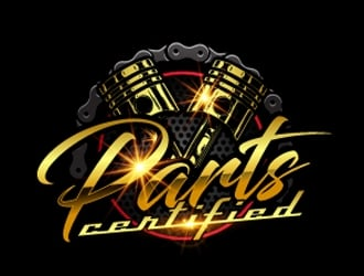 parts certified logo design
