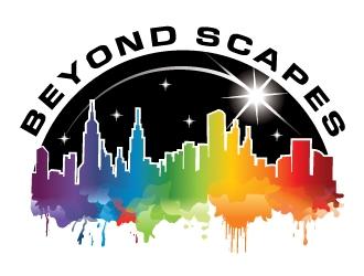 Beyond Scapes logo design