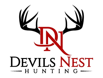 Devils Nest Hunting logo design