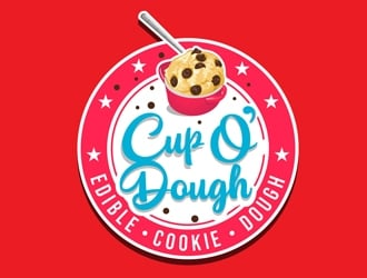 Cup O Dough logo design
